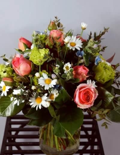 Margeriten Und Rosen